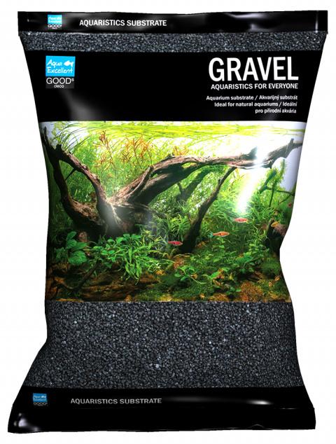 Písek Aqua Excellent černý 1,6-2,2mm 3kg title=