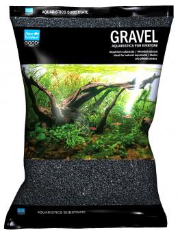 Písek Aqua Excellent černý 1,6-2,2mm 3kg