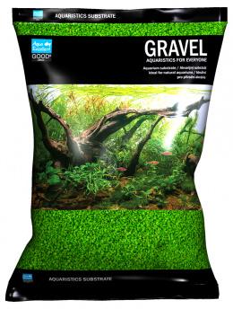 Písek Aqua Excellent zelený 1,6-2,2mm 3kg