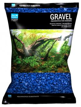 Písek Aqua Excellent modrý 3-6mm 3kg