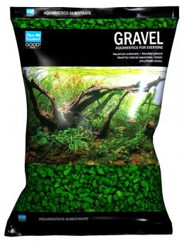 Písek Aqua Excellent zelený 3-6mm 3kg