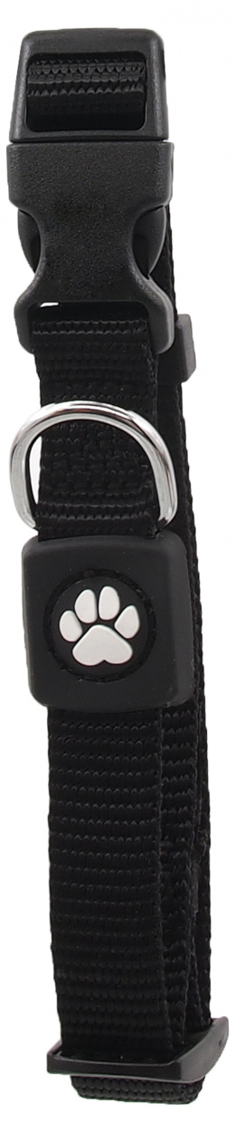 Obojek Active Dog Premium S černý 1,5x27-37cm