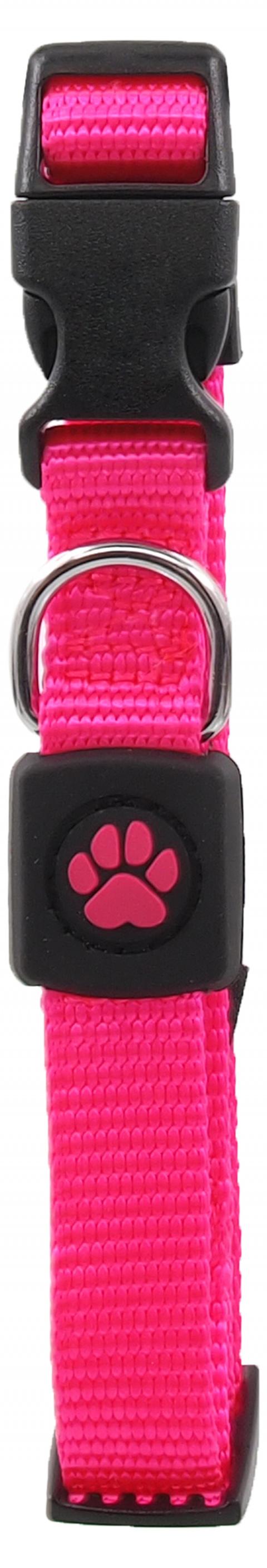 Obojek Active Dog Premium S růžový 1,5x27-37cm title=