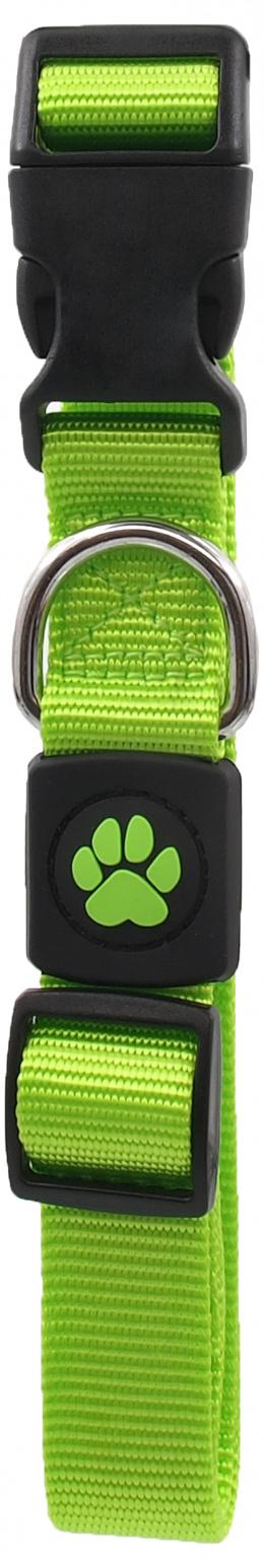 Obojek Active Dog Premium L limetka 2,5x45-68cm