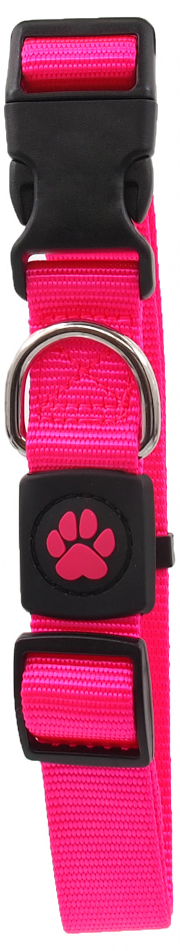 Obojek Active Dog Premium L růžový 2,5x45-68cm