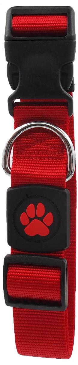 Obojek Active Dog Premium XL červený 3,8x51-78cm