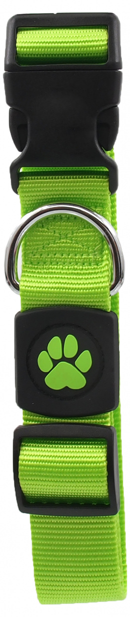 Obojek Active Dog Premium XL limetka 3,8x51-78cm