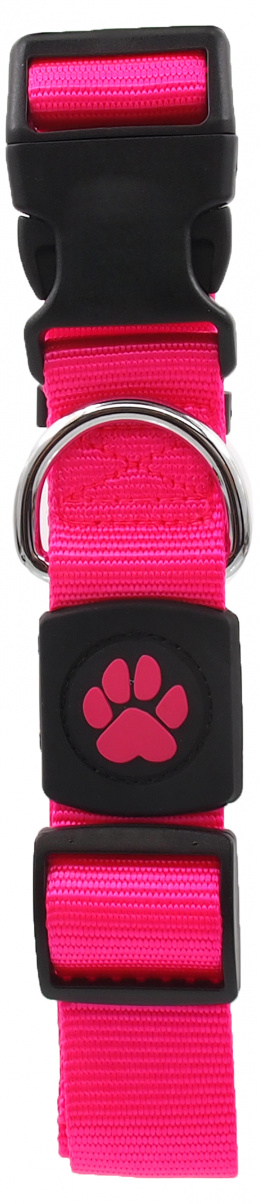 Obojek Active Dog Premium XL růžový 3,8x51-78cm