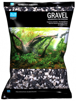 Drť Aqua Excellent černo-bílá 4-8 mm 3kg