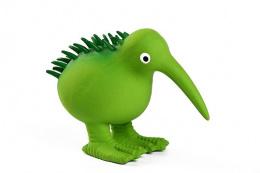 Hračka Kiwi Walker latex kiwi pískací zelená 13,5cm