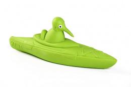 Hračka Kiwi Walker latex Kayak pískací zelená 19cm