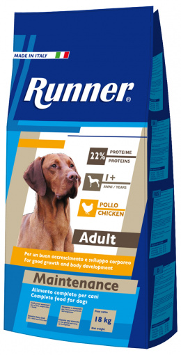 Krmivo RUNNER Adult Maintenance Chicken 18kg