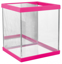 Betárium růžové 15x14x17cm