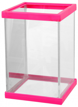 Betárium růžové 10x10x15cm