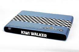 Matrace Kiwi Walker Racing Bugatti ortopedická modrá/černá L 80x55x6cm