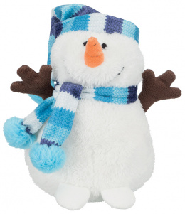 Hračka Trixie plyšový sněhulák 17cm