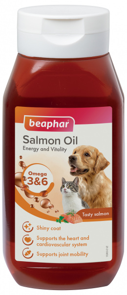 Lososový olej Beaphar Salmon Oil 430 ml
