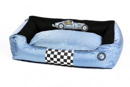 Pelech Kiwi Walker Racing Bugatti modrá/černá XL 95x65x26cm