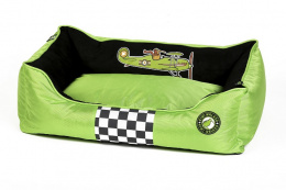 Pelech Kiwi Walker Racing Aero zelená/černá XL 95x65x26cm