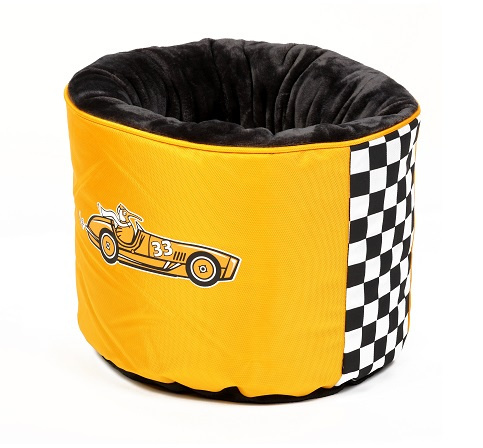 Pelech Kiwi Walker Racing Cigar Nest oranžová 45x45x35cm