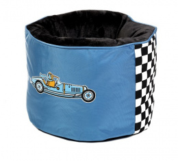 Pelech Kiwi Walker Racing Bugatti Nest modrá 45x45x35cm