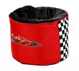 Pelech Kiwi Walker Racing Formula Nest červená 45x45x35cm