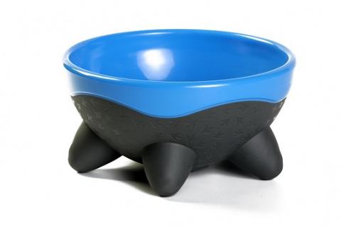 Miska Kiwi Walker UFO modrá 750ml
