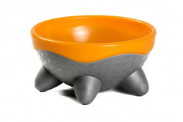 Miska Kiwi Walker UFO oranžová 750ml