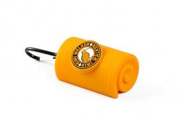 Zásobník Kiwi Walker na sáčky na výkaly oranžový 9cm