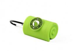 Zásobník Kiwi Walker na sáčky na exkrementy zelený 9cm