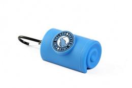 Zásobník Kiwi Walker na sáčky na exkrementy modrý 9cm