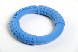 Hračka Kiwi Walker TPR guma kruh modrý 18cm