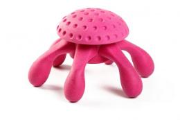 Hračka Kiwi Walker TPR guma chobotnice růžová 20cm