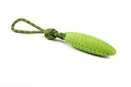 Hračka Kiwi Walker TPR guma Zeppelin zelený 22cm