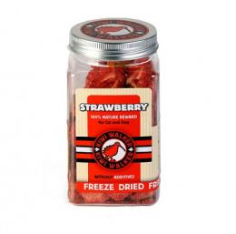 Pamlsky Kiwi Walker Snack mrazem sušené jahody 25g