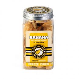 Pamlsky Kiwi Walker Snack mrazem sušený banán 70g