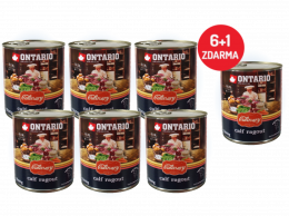 Konzerva Ontario Culinary Calf Ragout with Duck 800 g 6 + 1 ZDARMA