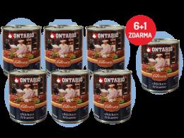 Konzerva Ontario Culinary Chicken Fricasse 800 g 6 + 1 ZDARMA