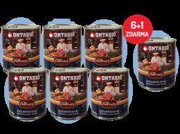 Konzerva Ontario Culinary Minestrone Chicken and Lamb 800 g 6 + 1 ZDARMA