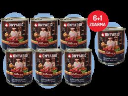 Konzerva Ontario Culinary Minestrone Chicken and Pork 800 g 6 + 1 ZDARMA
