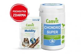 Canvit Chondro Super pro psy 230g+Canvit Snack Mobility