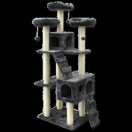 Odpočívadlo Magic Cat Sophia 76x50x182cm šedé