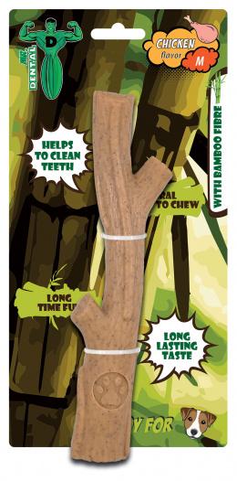 Hračka žvýkací Mr. Dental Bambone klacek kuřecí M
