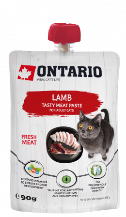 Pasta Ontario Lamb Fresh Meat Paste 90g