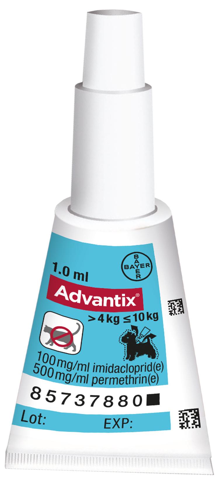 Spot-on Advantix 4-10kg