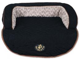 Sofa Scruffs Wilton bed černé M