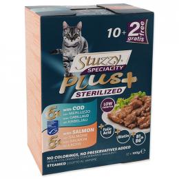 Kapsička Stuzzy Speciality Plus Sterilized treska, losos 12x100g