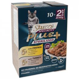 Kapsička Stuzzy Speciality Plus Sterilized kuře, krůta 12x100g