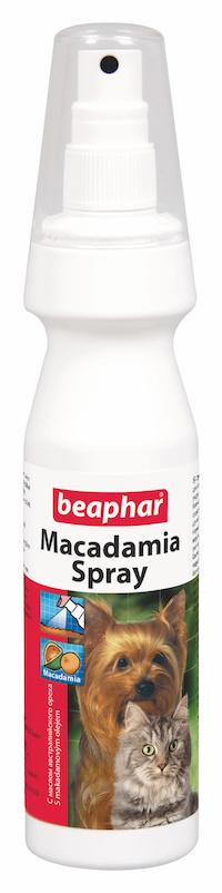 Vyživující sprej na srst s makadamovým olejem Beaphar 150 ml title=