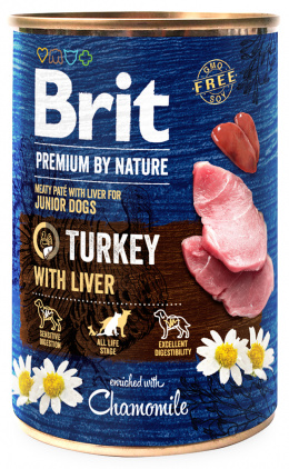 Brit Premium by Nature Turkey with Liver 400g
